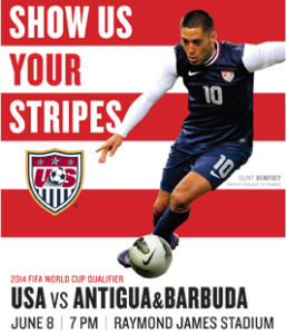 Clint Dempsey and the US Men's National Team