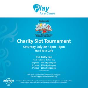 Hands Across The Bay Charity Slot Tournament