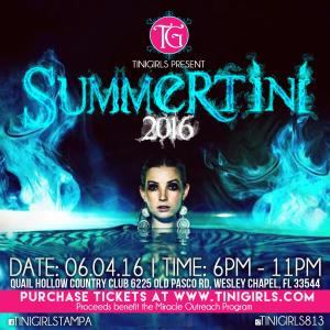SummerTini 2016 - The Blue Lagoon Edition