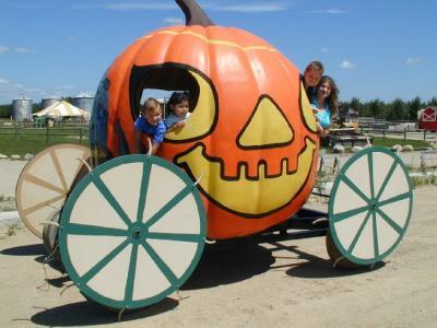 Pumpkin Ride at Klackle Orchards