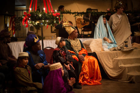 Old World HB's International Celebration of Christmas showcases a live nativity and how different cultures celebrate the season. (Photo courtesy of oldworld / Smugmug)