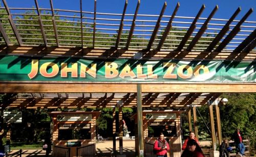 John Ball Zoo Entrance
