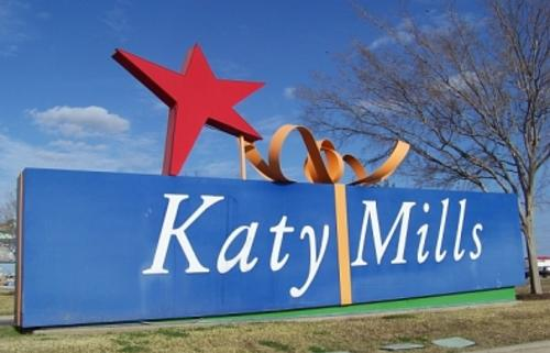 Katy Mills Entry Sign