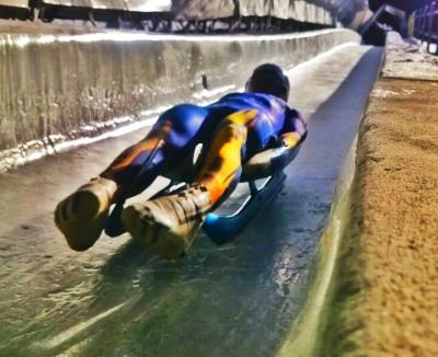 Luge World Cup Competition