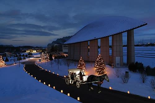 Frederik Meijer Gardens Carriage Ride in Winter