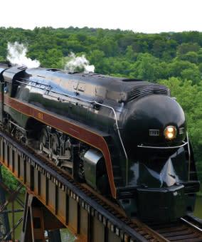 611 Steam Train
