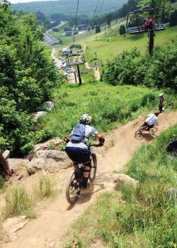 Seven Springs Mountain Biking