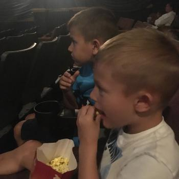 Kids love seeing movies at the Royal Theater!