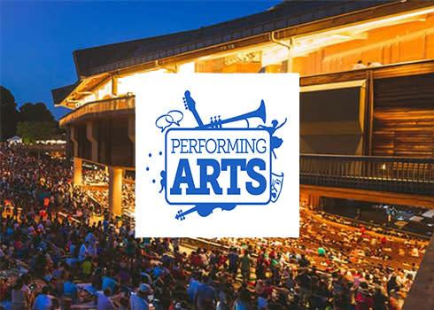 Performing Arts - Spring Landing Page