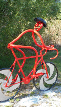 Bike Sculpture