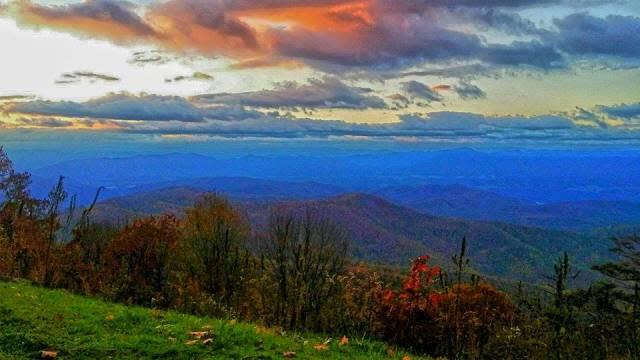 Blue Horizon - Fall Photo