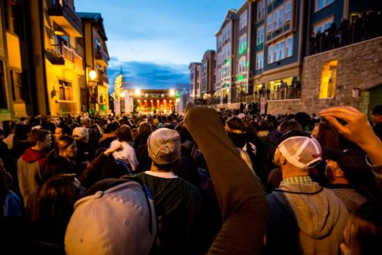 Outdoor concerts - Spring in Park City