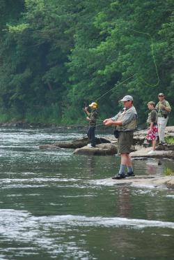 Fly Fishing on the Youghiogheny River