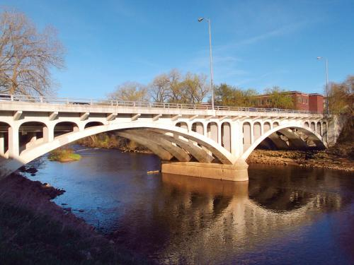 Dewey Street Bridge in Eau Claire, Wisconsin