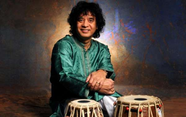 Zakir Hussain and Rahul Sharma