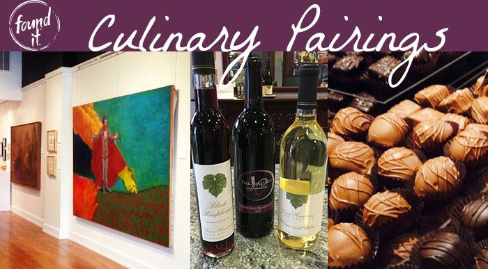 Art, Wine & Chocolate Culinary Pairing