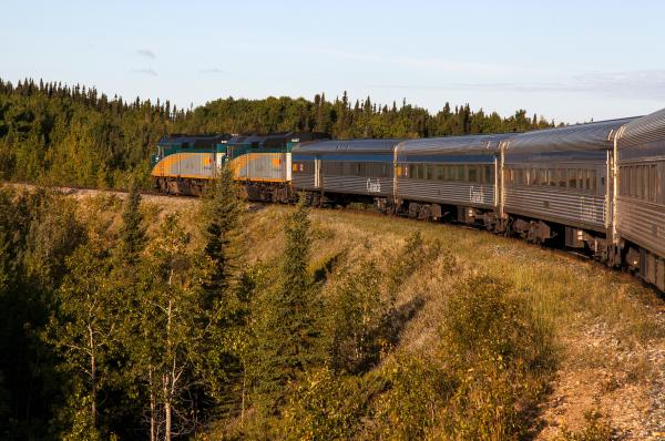 Hudson Bay Line Traverses Manitoba from Winnipeg to Churchill