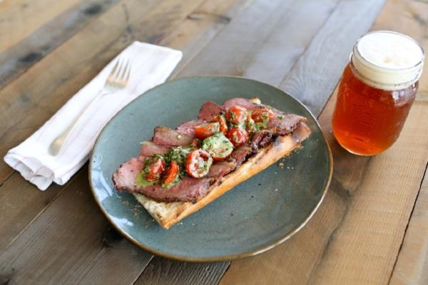 SeaSalt Woodfire Burger -Santa Maria Smoked Tri Tip Sandwich