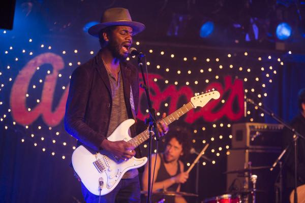 Gary Clark Jr Performing at Antones