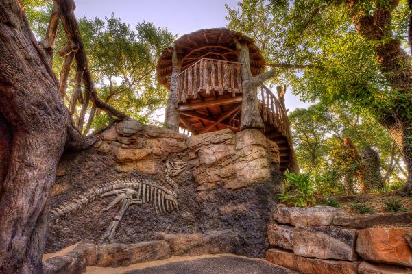 Botanica Fossil Wall
