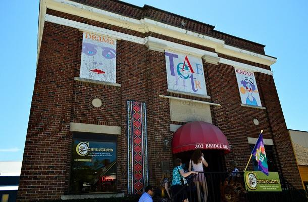 Port Stanley Festival Theatre exterior
