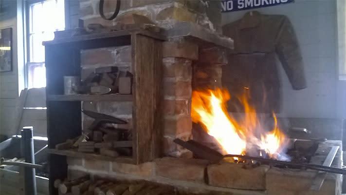 Boyertown Museum of Historic Vehicles Blacksmithing