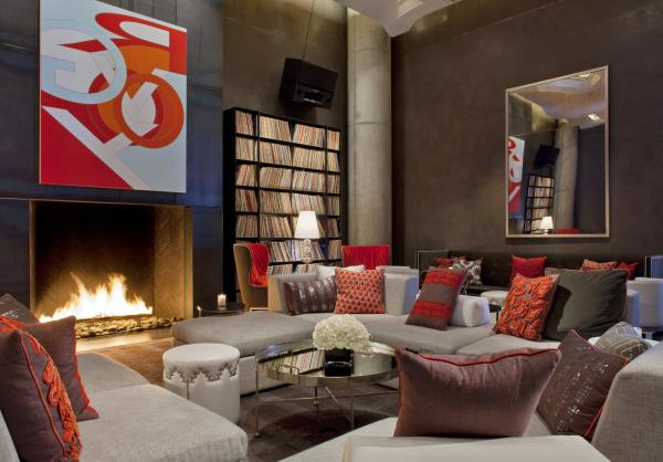 The Living Room at W Austin