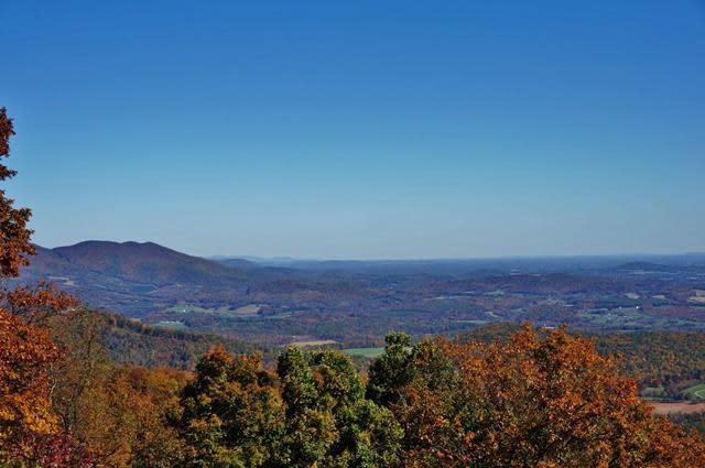 Blue Ridge Mountain Views - Fall Photo