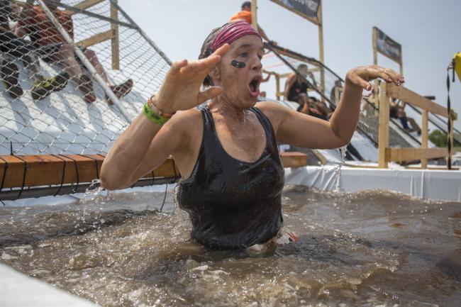 tough mudder arctic enema