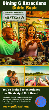 Dining & Attractions Guide Book 2016
