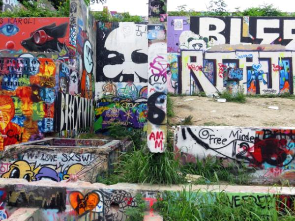 Urban photography at the HOPE Outdoor Gallery