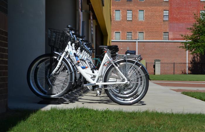 Tubman Museum Bike Rack