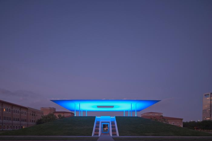 James Turrell's Skyspace Exterior in Houston