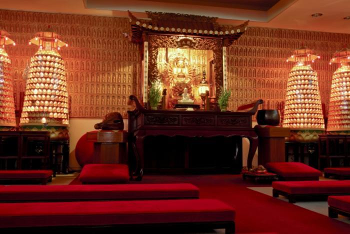 Jade Buddha Temple Indoor