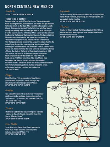North Central New Mexico Film Trail