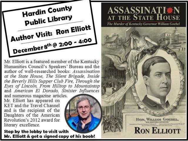 Author Signing: Ron Elliott