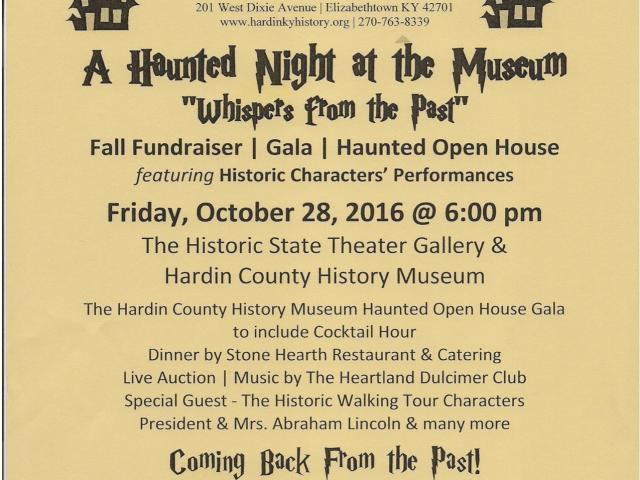 "A Haunted Night at the Museum, ""Whispers from the Past"""