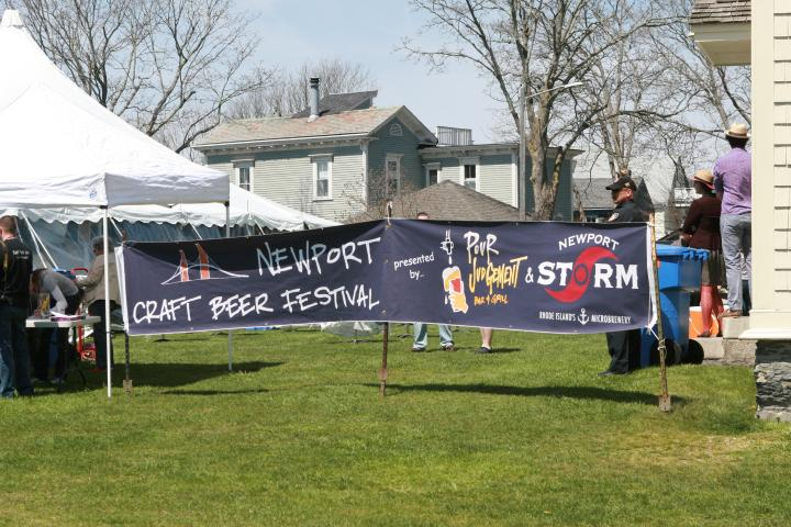Newport Craft Beer Festival Banner