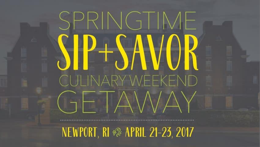 Springtime Sip & Savor