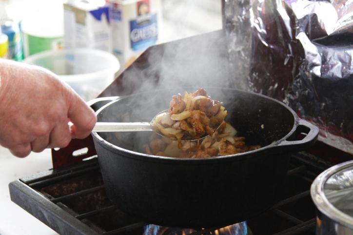 Rabbit Festival Cook Off Black Pot