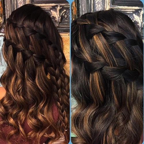 The braid bar at Meleesa The Salon