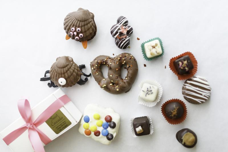 Chocolates from Sweet Cascades