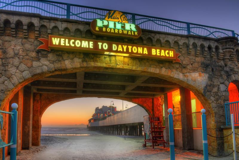 Daytona Beach Boardwalk and The Main Street Pier