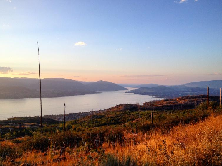 View from Okanagan Mountain Park