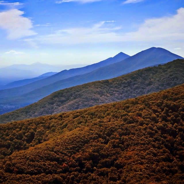 Blue Ridge Mountains Fall - Fall Photo