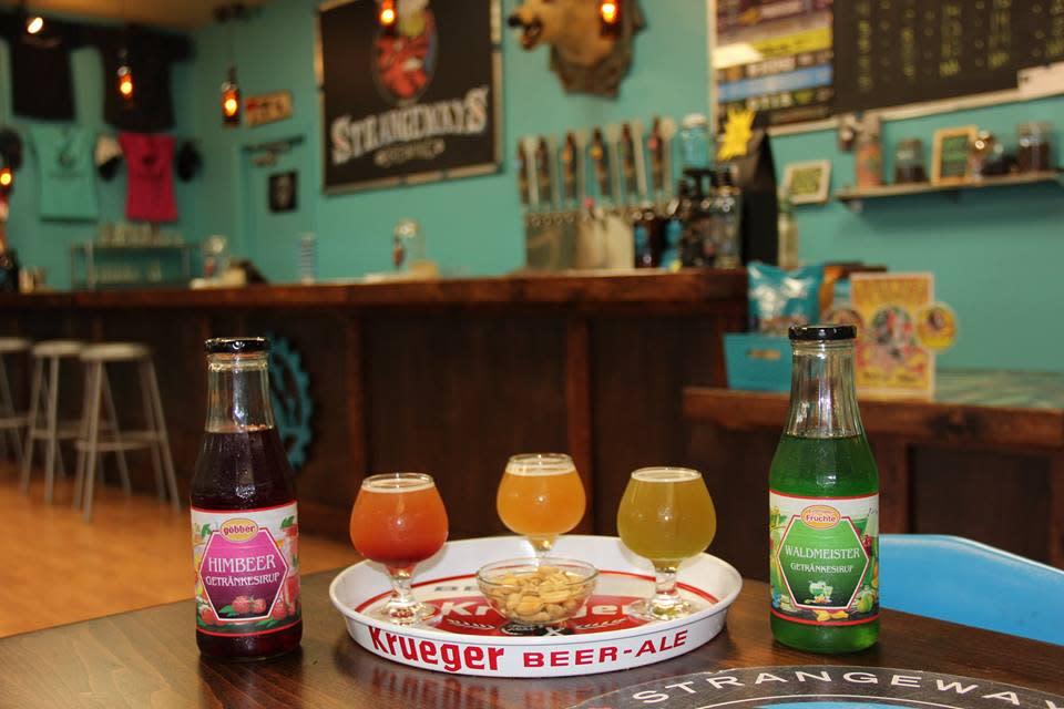 Strangeways beer tasting room