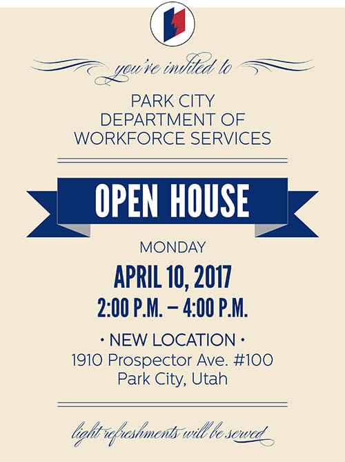 Workforce Dept Open House