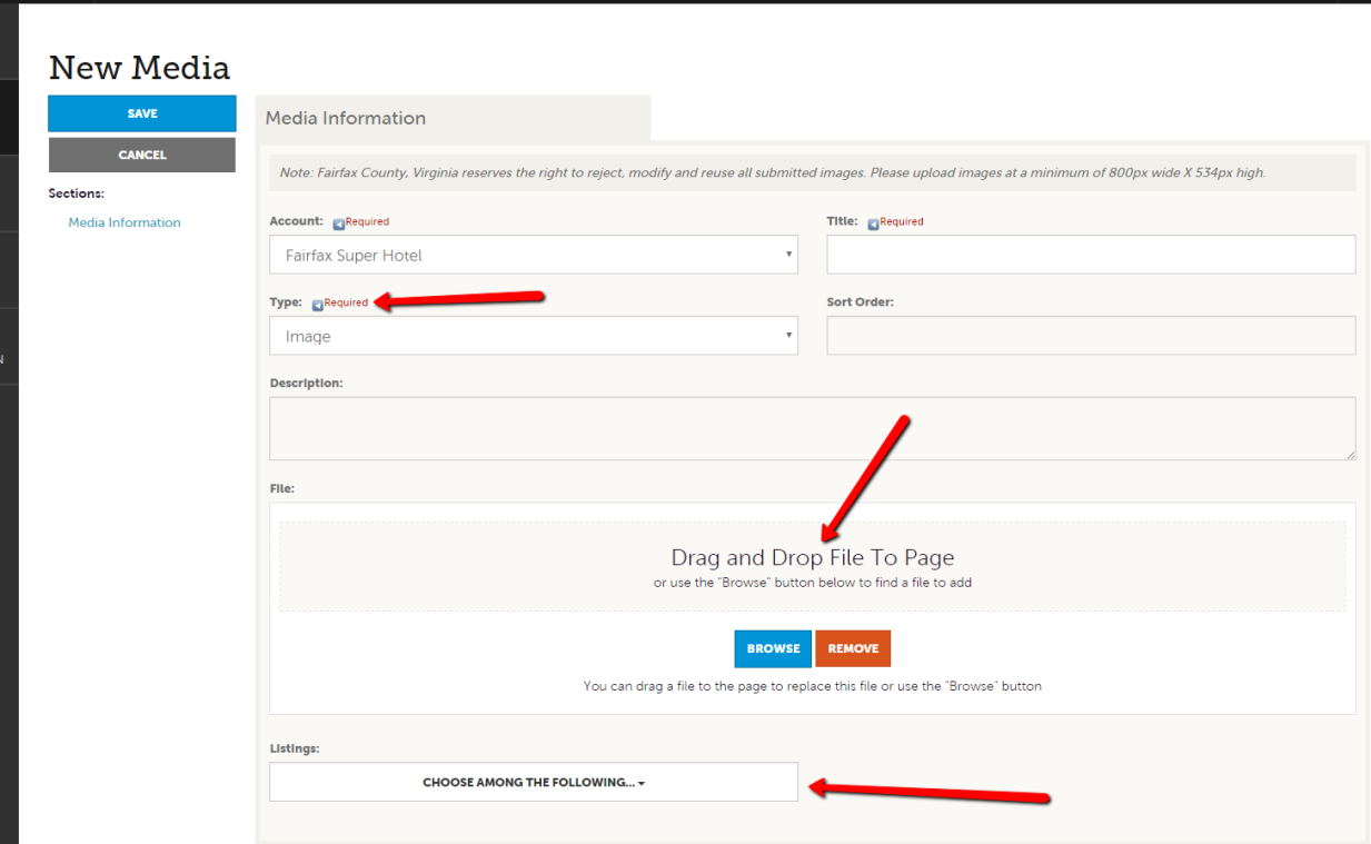 Extranet Guides: Manage Media 3