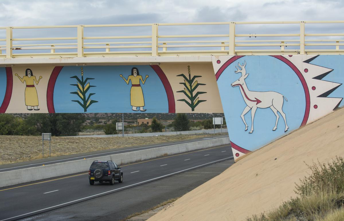 Kuuyemugeh Bridge on US 285