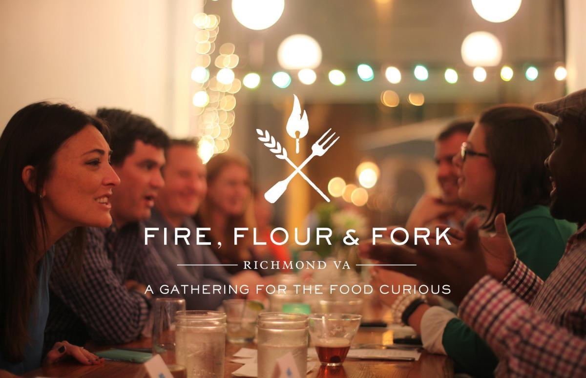 Fire Flour Fork logo image